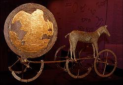 Solvagnen och bronsåldern kan vara kopplat till Iliaden och slaget om Troja som Homeros en gång diktade