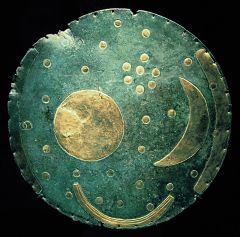 The zebra disc which could be the shield of Achilles in the battle of troy from Homer's Iliad
