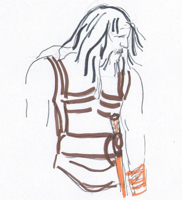 Sketch of a man. Twelve labors of Hercules and the 12 labours of Hercules, Heracles, films